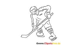 Hockey orlage Winter-Sport