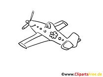 Passagierflugzeug Ausmalbilder Technik und Aviation