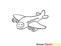Reise Flugzeug Malvorlagen Flugzeuge und Transport)