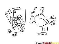 Casino Malvorlagen