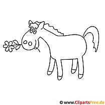 78 pferde ausmalbilder kostenlos zum ausdrucken