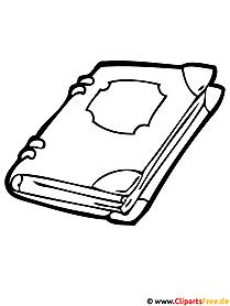 Buch Malvorlage Window Color