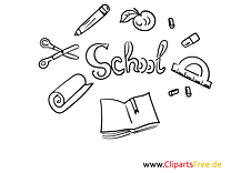 Colouring Sheets School