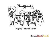 Klasse Schule Malvorlagen für Kinder