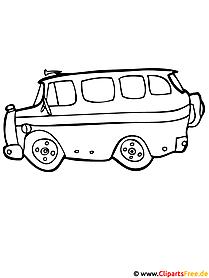 Schulbus Malvorlage kostenlos