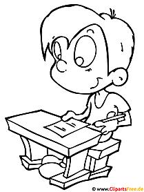 Schule Malvorlagen Lernen