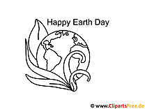 Tag der Erde Ausmalbilder für Kinder kostenlos ausdrucken